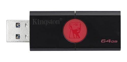 memoria usb kingston 64gb dt106 para fotos, videos y musica