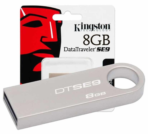 memoria usb kingston 8 gb metal