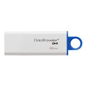 Memoria Usb Kingston Datatraveler G4 16gb Blanco/azul