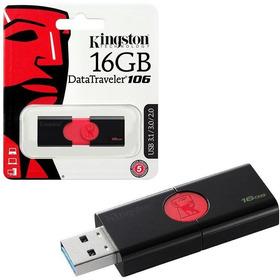 Memoria Usb Kingston De 16gb 100% Original Datatraveler 106