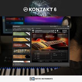 Memoria Usb Kontak 6 Librerias Windows Sampleos Vst Piano Rhodes Brass  Cuerdas Celos Violines Baterias