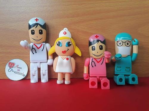 memoria usb medico enfermera nurse 16gb cirujano
