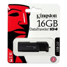 Memoria Usb Portátil 2.0 16gb Datatraveler Dt104 Kingston