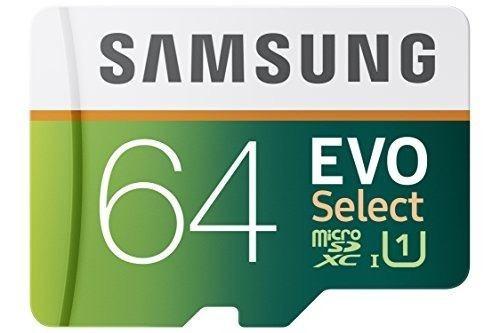 memoria usb samsung 64gb 80mb/s evo micro sd