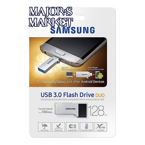 memoria usb samsung duo 128gb usb 3.0 - 5gb/s