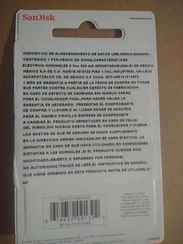 memoria usb sandisk 16 gb  metalica chihuahua