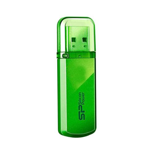 memoria usb silicon power 8gb sph101 verde