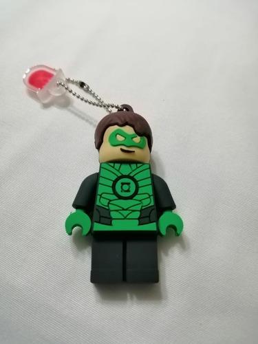 memoria usb superhéroe linterna verde 16gb