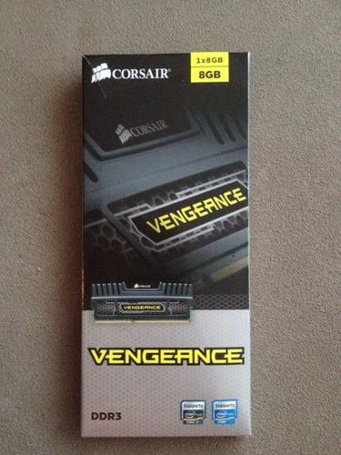 memoria vengeance (1x8gb) 8gb consair ddr3