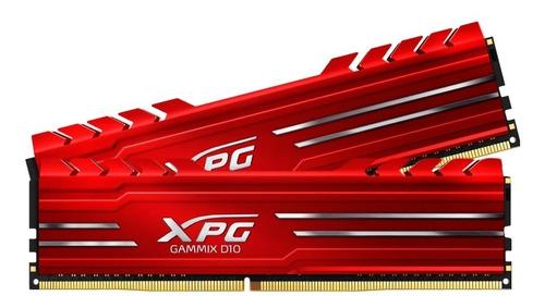 memória xpg gammix d10 16gb (2x8gb) ddr4 2666mhz em até 12x