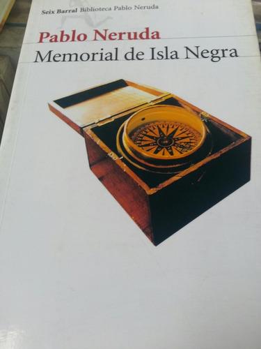 memorial de isla negra neruda usado impecable