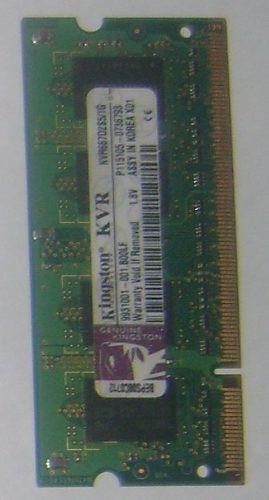 memorias 1gb dd2 / ddr3 para laptop como nueva!!!