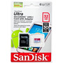 Memoria Micro Sd 32gb Uhs-1 Sandisk Ultra 30mb/s Adaptador
