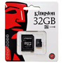 Memoria Micro Sd 32 Gb Kingston Class 10 Sellada Gtia 1 Año