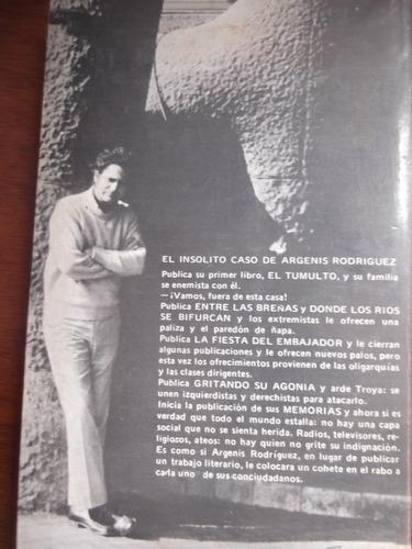 memorias argenis rodriguez edt fuentes 2da edicion vol 1