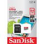 Memoria Sandisk Ultra 64gb Micro Sdxc Uhs-i Clase 10 Full Hd