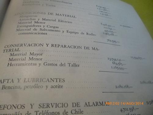 memorias  cuerpo bomberos de santiago 1960 (347w