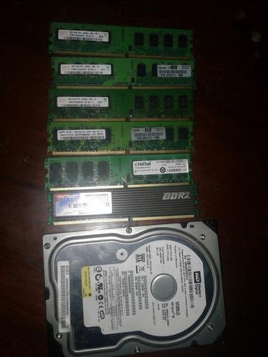 memorias ddr2 de dos gb cada una