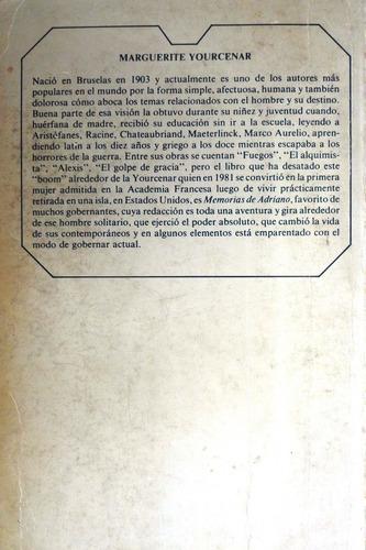 memorias de adriano marguerite yourcenar