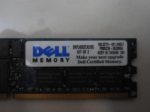 memorias de servidores dell de 8g snpjk002ck2