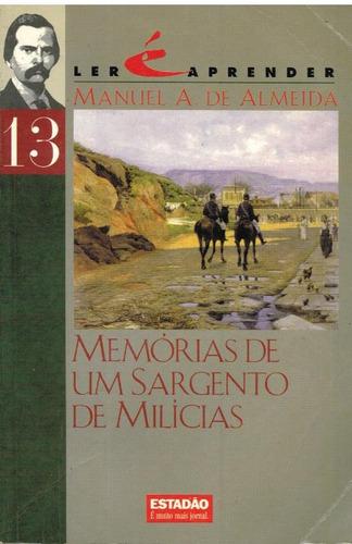 memórias de um sargento de milicias  pague com cartão