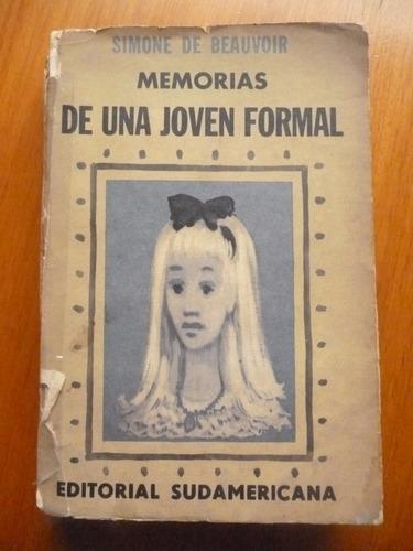 memorias de una joven formal - simone de beauvoir