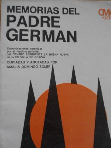 memorias del padre germán comunicaciones obtenidas