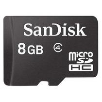 Memoria Micro Sd Sandisk De 8gb Para Blackberry Nokia 8900