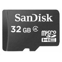 Memoria Micro Sd Sandisk De 32gb Para Blackberry Nokia 8900