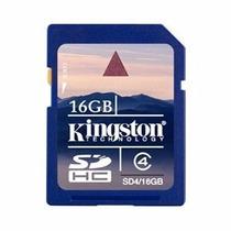 Memoria Sd Kingston 16gb Original Sellada