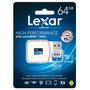 Memoria Lexar Micro Sd 64gb Clase 10 95mb/s Go Pro Impocash®