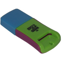 Lector De Memoria Multi Color Micro Sd 32g Usb 2.0 Pendrive