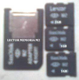 memorias m2 + adaptdor