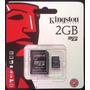 Memoria Micro Sd 2gb Kingston Con Adaptador 100% Original