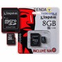 Memoria Micro Sd Kingston De 8gb Con Adaptador