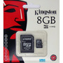 Micro Sd 8gb Kingston Microsd 100% Original Selladas