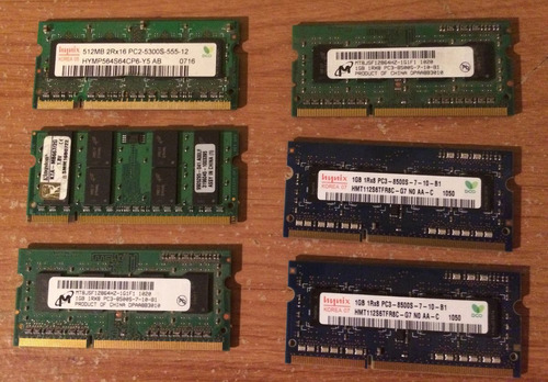 memorias para mac originales