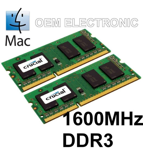 memorias ram 16gb original apple macbook pro - imac - mini