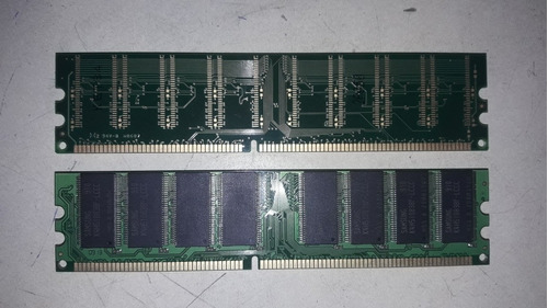 memorias ram 1gb ddr1 kingston266 y de king samsung 400mhz