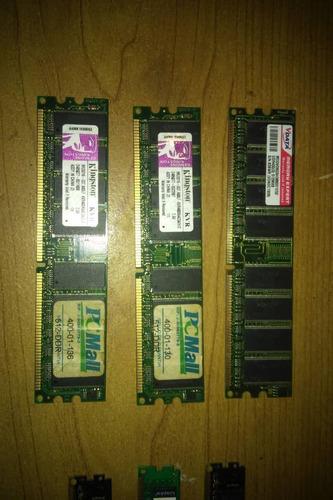 memorias ram 2 gb y 4 gb y otras