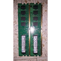 Par De Memoria Ram Ddr2 Para Pc De 512 Samsung