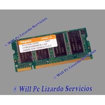 Memoria Ddr1 Para Portatil / 256mb / 333 / Pc2700 Hynix
