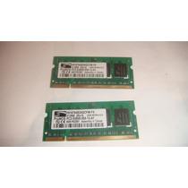 Memoria Ram Laptop Ddr2 512mb (x2) = 1gb 667mhz Soy Tienda