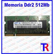 Memoria 512mb Ddr2 533/667 Mhz Para Laptop