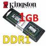 Memoria Ddr1 1gb Pc3200 400mhz Pc Blister- Kingston