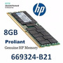 Memoria Hp 8gb 2rx8 Pc3-12800e-11 Kit Unbuffered 669324-b21