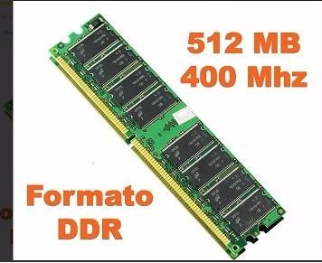 memorias ram ddr 512mb