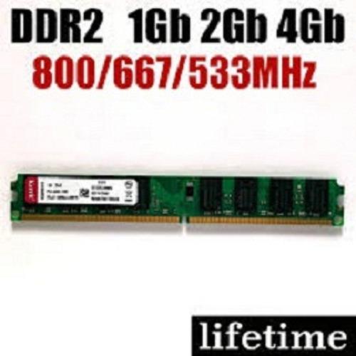 memorias ram ddr2 1gb para