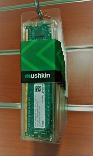 memorias ram ddr3  1600 mhz pc/laptop 4gb mushkin nuevas