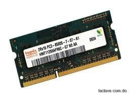 memorias ram ddr3 para laptop